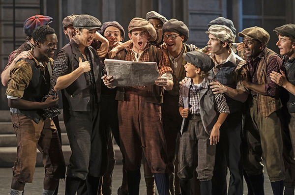 Striking newsboys become above-the-fold sensations in Disney's Newsies, Septem Photo