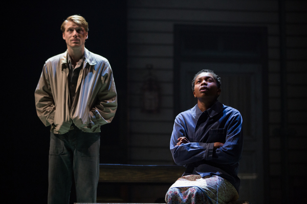 Colin Bates and Gloria Obianyo in GIRL FROM THE NORTH COUNTRY Toronto/London Company