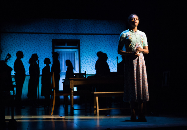 Gloria Obianyo and the cast of GIRL FROM THE NORTH COUNTRY Toronto/London Company