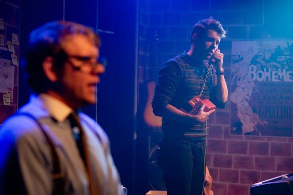 Photo Flash: Jonathan Larson's TICK, TICK... BOOM! Opens At The Bridge House Theatre