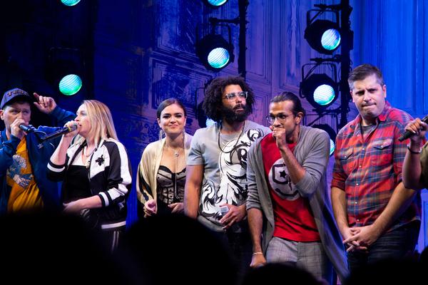Photo Coverage: FREESTYLE LOVE SUPREME Celebrates Opening Night!