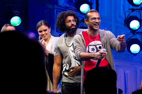 Ashley Perez Flanagan, Daveed Diggs, Utkarsh Ambudkar