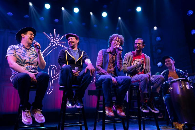 BWW Review: Fast and Funny Rap Improv FREESTYLE LOVE SUPREME Hits Broadway