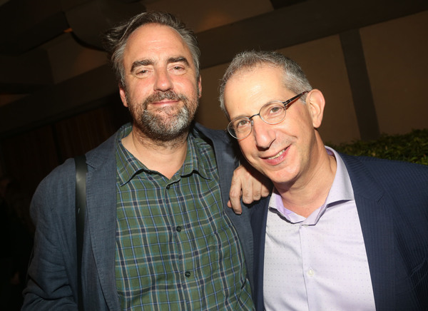 Director Jeremy Herrin and The Old Globe Artistic Director Barry Edelstein  Photo