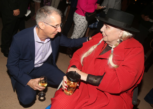 The Old Globe Artistic Director Barry Edelstein and Joni Mitchell  Photo