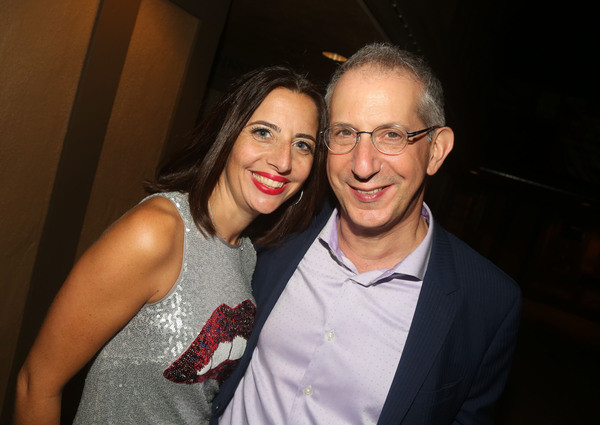 Producer Sue Wagner and The Old Globe Artistic Director Barry Edelstein  Photo