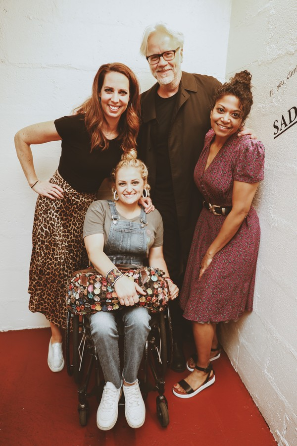 Tim Robbins, Mallory Portnoy,  Ali Stroker, and Rebecca Naomi Jones Photo