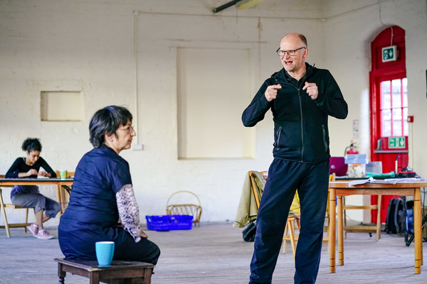 Photo Flash: Inside Rehearsal For THE D-ROAD at The Spode Works in Stoke-on-Trent