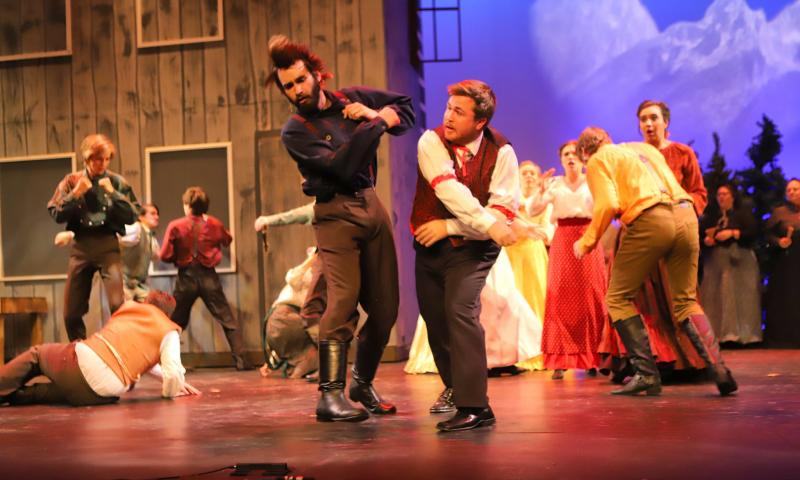 BWW Review: Ammons, Krebs Lead Entertaining SEVEN BRIDES FOR SEVEN BROTHERS at Springhouse