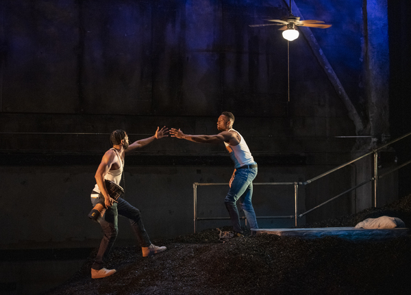Photo Flash: First Look at Steppenwolf's THE BROTHERS SIZE
