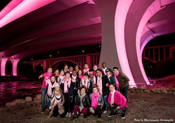 Photo Flash: MEAN GIRLS National Tour Lights Up Minneapolis In Honor Of October 3!