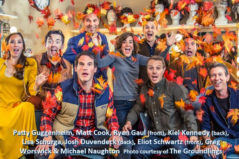 BWW Review: ALL THE LEAVES ARE GROUNDLINGS And The Laughs Are Grayt!