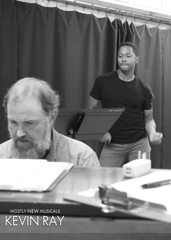 Photo Flash: The Jazzy Cast Of MostlyNEWmusicals: Kevin Ray In Rehearsal