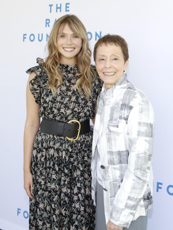 Elizabeth Olsen and Gail Abarbanel  Photo