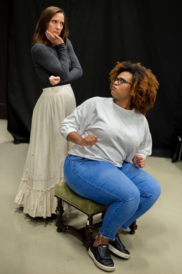 Photo Flash: In Rehearsal With Titan Theatre Company's All Female TARTUFFE