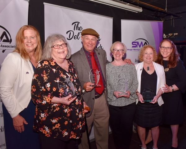 Honorees Mary K Klinger, Rich Costabile, Barbara Donner & Janet Friedman With SMA Photo
