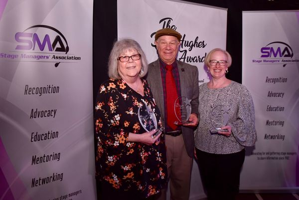 Photo Flash: Inside the Stage Managers' Association Del Hughes Awards