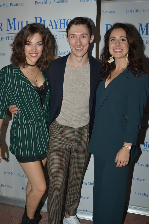 Tessa Grady, Drew Redington and Samantha Joy Pearlman Photo
