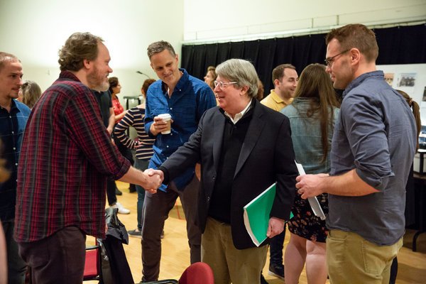 Photo Flash: In Rehearsal with GREATER CLEMENTS