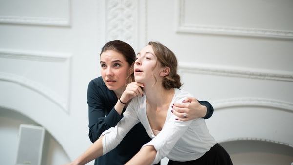 Photo Flash: Inside Rehearsal For FAST at the Park Theatre
