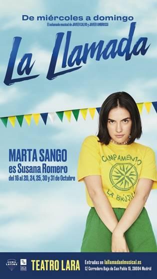 Yolanda Ramos y Marta Sango se unen a LA LLAMADA
