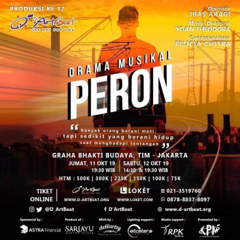BWW Previews: D'ARTBEAT to Debut Original Musical PERON at GRAHA BHAKTI BUDAYA This Weekend