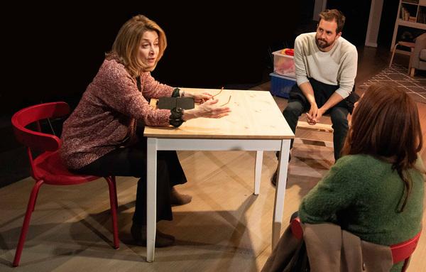 Sharon Lawrence, Tim Peper, Sarah Utterback