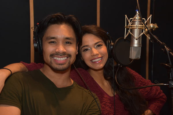 BWW Exclusive: Arielle Jacobs and the Cast of ALADDIN Get December Feels on Carols For A Cure