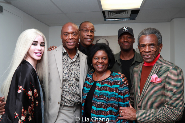 Donna Briggs, Erich McMillan-McCall, Patrick L. Wiley, Cherine Anderson and Andre De  Photo