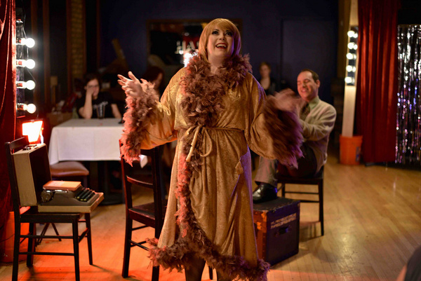 Photo Flash: First Look At Cowardly Scarecrow's CABARET