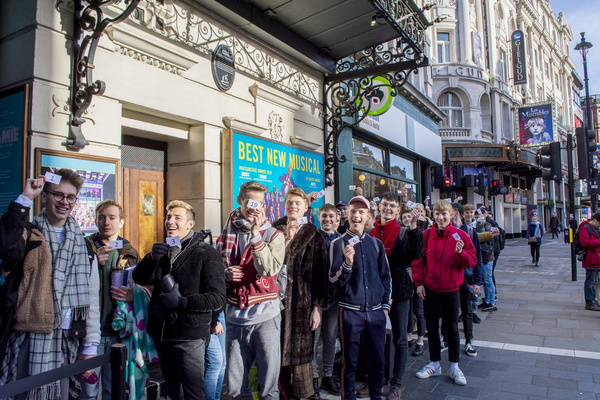 Photo Flash: Over 200 Hopefuls Turn Out For Open Audition For EVERYBODY'S TALKING ABOUT JAMIE