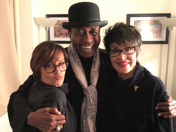 Chita Rivera with Lisa Mordente and Ben Vereen
