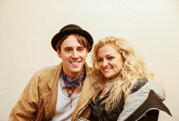Reeve Carney and Ali Stroker