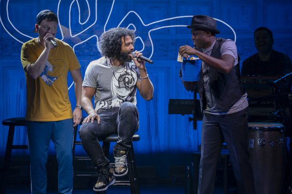 Chris Sullivan, Daveed Diggs, and Wayne Brady