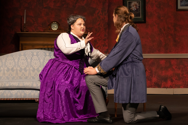 Photo Coverage: First Look at Hilliard Bradley Theatre's THE IMPORTANCE OF BEING EARNEST