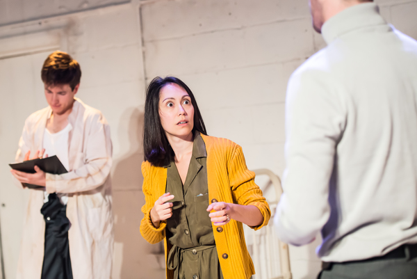 Photo Flash: First Look at MITES at Tristan Bates Theatre