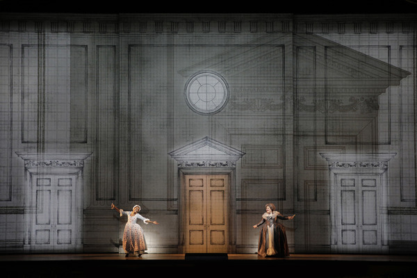 Jeanine De Bique as Susanna and Catherine Cook as Marcellina