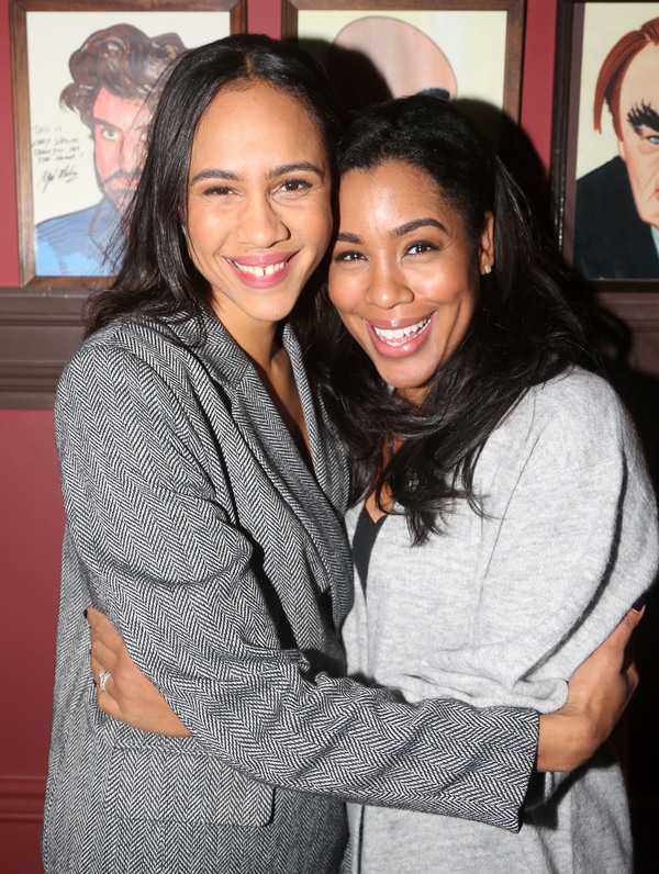 Zawe Ashton and Jesmille Darbouze  Photo