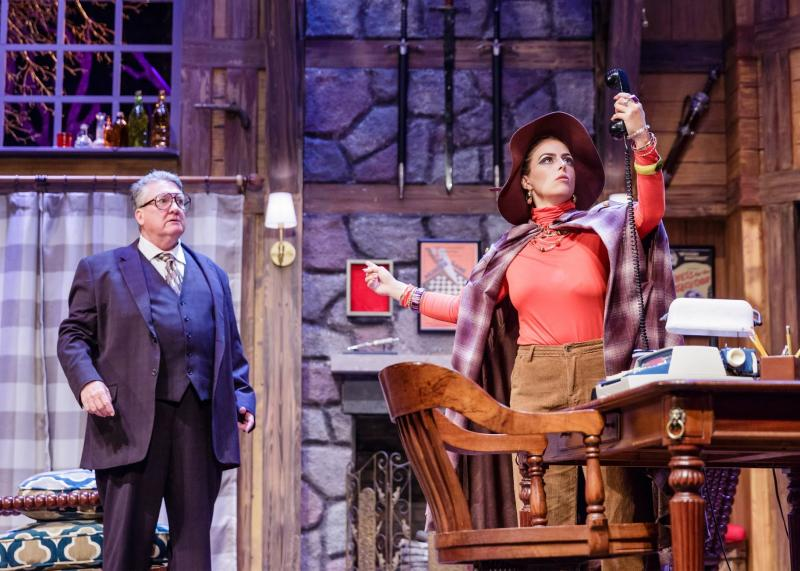 BWW Review: The Nonstop Twists and Turns in Garden Theatre's DEATHTRAP Are Both Trick and Treat