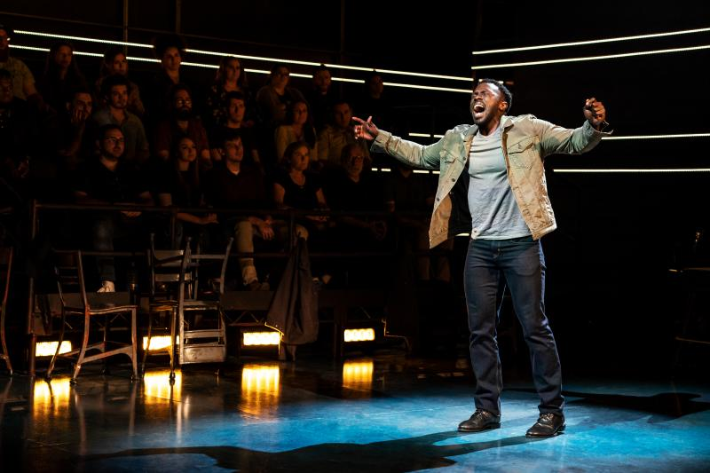 BWW Review: Joshua Henry Thrills With Authoritative Vocals, Sensitive Acting in Ross Golan's THE WRONG MAN