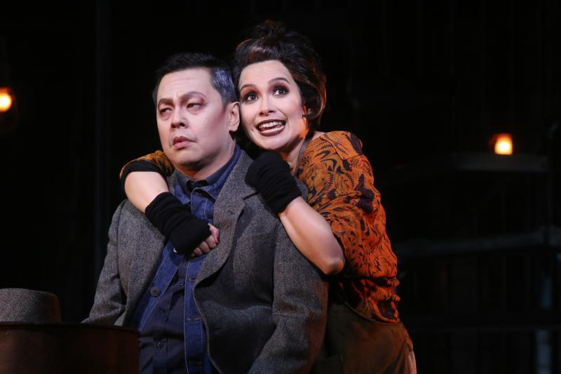 Photo Flash: First Look at SWEENEY TODD Starring Lea Salonga and Jett Pangan