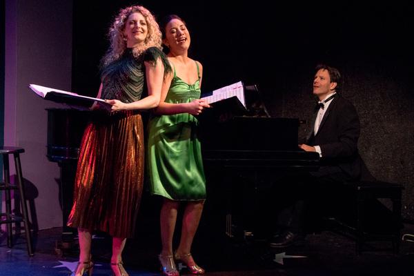 Lauren Molina, Diane Phelan, Eric Svejcar (on piano) Photo