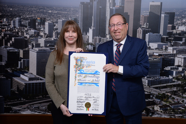 Photo Flash: LA City Council Honors The Groundlings on Their 45th Anniversary