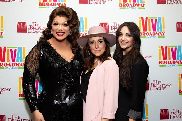 Alexis Michelle, Jessica Vosk and Ana Villafane