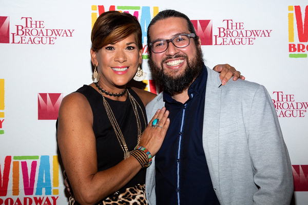Doreen Montalvo and Jaime Lozano