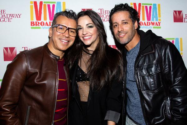 Sergio Trujillo, Ana Villafane and Luis Salgado Photo