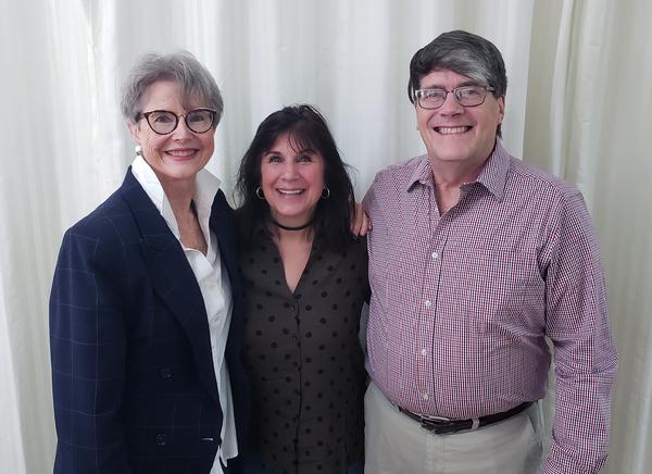 Elizabeth Hansen, Alice Jankell, C. Michael Perry  Photo