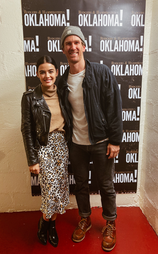 Lucy Hale with Denver Milord