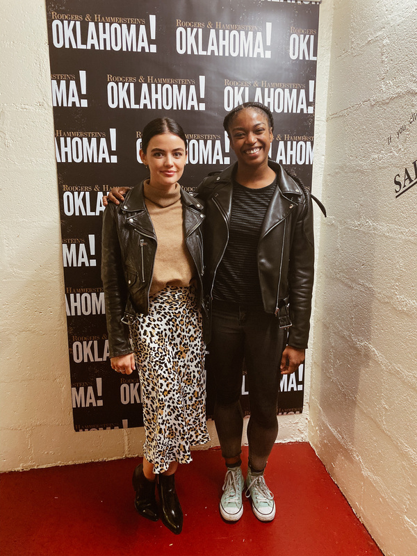 Lucy Hale with Aisha Mitchell