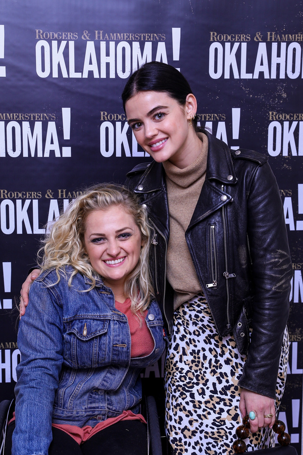 Lucy Hale with Ali Stroker Photo